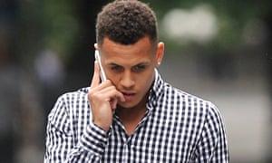 Ravel Morrison arrives court assault charge