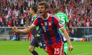 Thomas Müller of Bayern Munich
