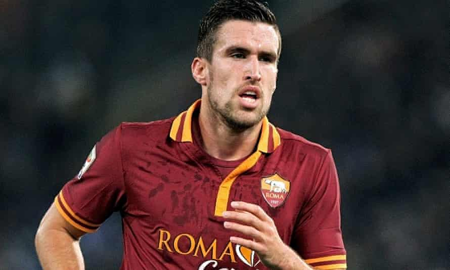 Kevin Strootman of Roma
