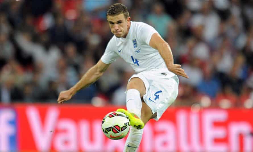 England's Jordan Henderson