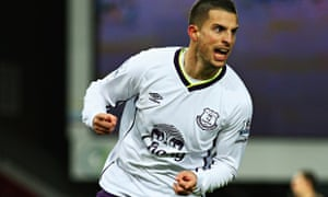 Kevin Mirallas looked back to his best in Everton's Cup defeat at West Ham and scored.