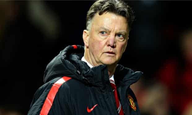 Louis van Gaal of Manchester United