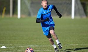 Luke Chadwick of Cambridge United