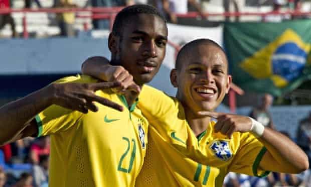 Brazil's Gerson