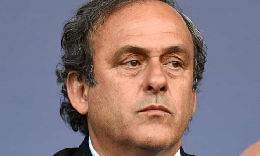 Uefa's president Michel Platini has been suspended from all foootball activities for 90 days.