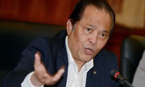 Former Fifa executive committee member Worawi Makudi is the ninth to be banned or suspended.