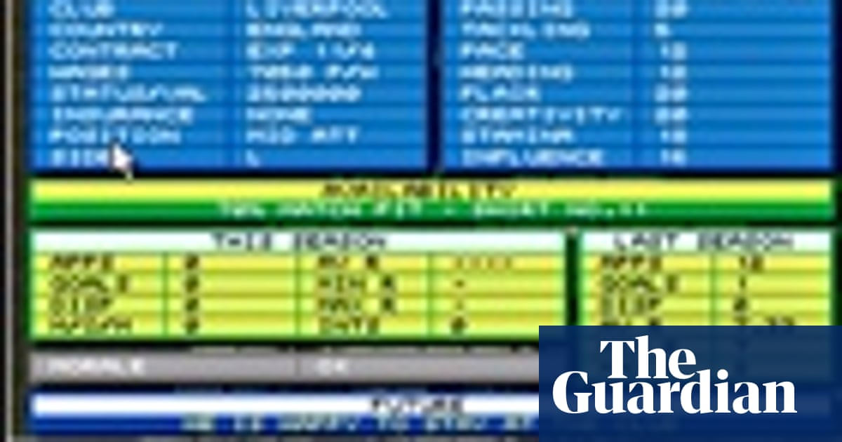 Football quiz: name the Championship Manager 93-94 players