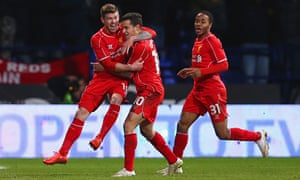 Bolton Wanderers 1-2 Liverpool