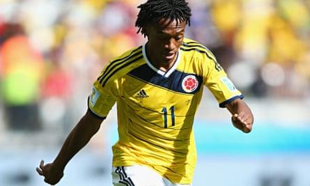Juan Cuadrado of Colombia