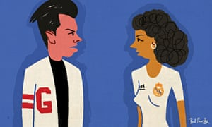In movie terms Gareth Bale is Danny Zuko in a cardigan going straight to get the girl