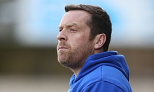 Alan Rogers stepped into the breach after Micky Adams' departure but could not save Tranmere.