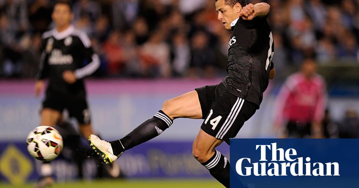 c8915455d Javier Hernández scores twice in Real Madrid victory at Celta Vigo