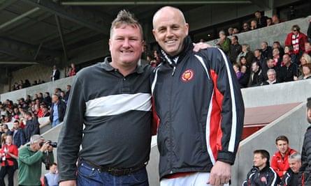 FC United manager Karl Marginson