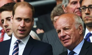 Prince William Greg Dyke