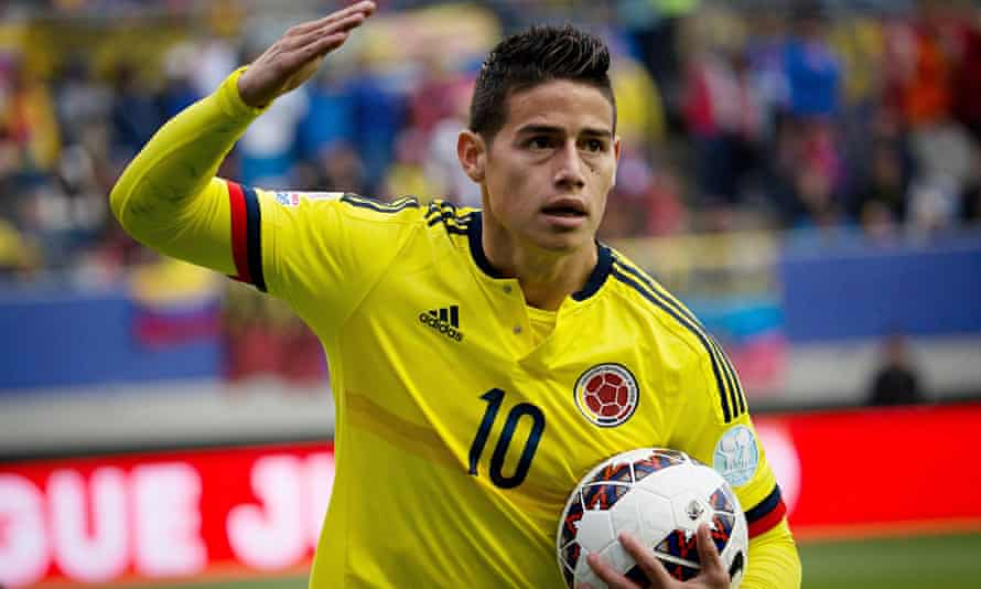 Colombia's James Rodríguez