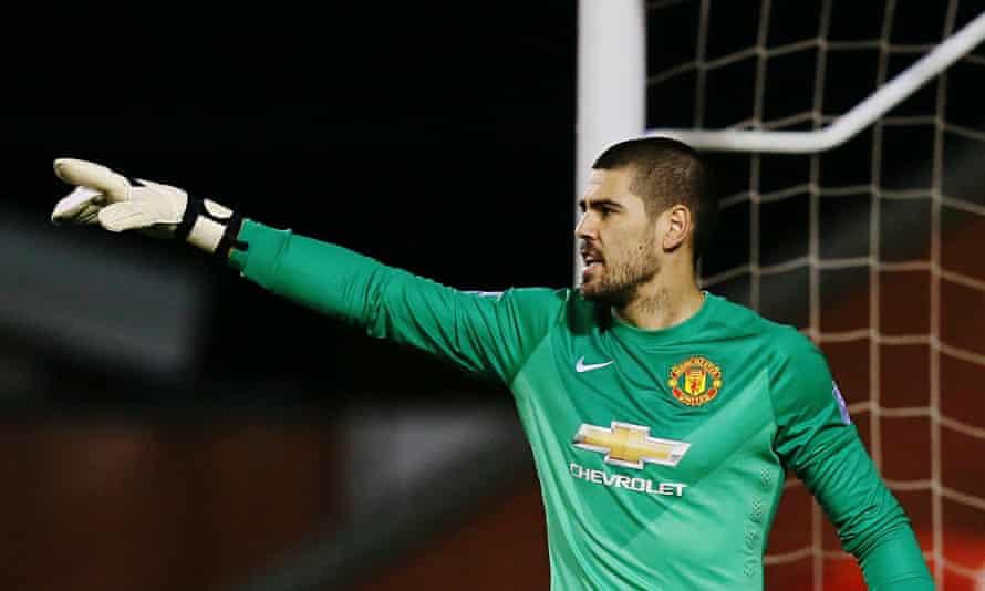 Victor Valdés Manchester United