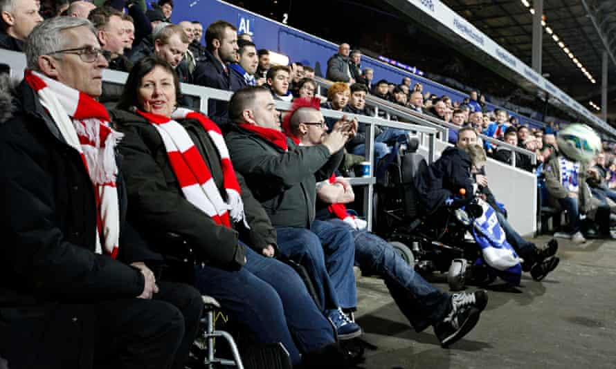 disabled arsenal fans
