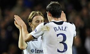 Luke Modric and Gareth Bale