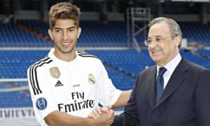 Lucas Silva and Florentino Perez