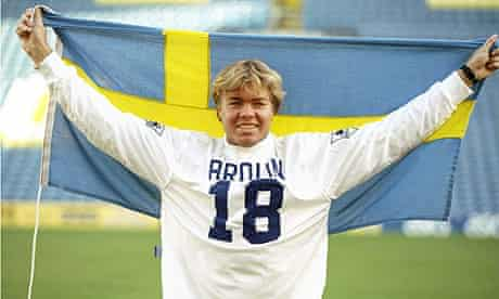 Tomas Brolin of Leeds United