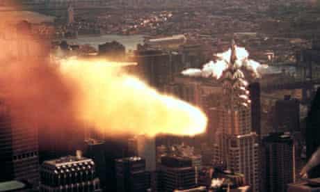 Armageddon meteor film still
