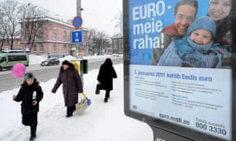 Euro poster, Tallinn