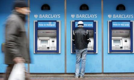 cashpoint machine barclays bank