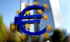 Euro sculpture, ECB