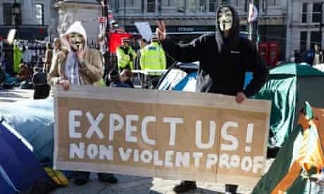 st pauls protest masks