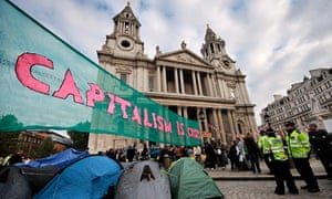 protest st pauls cathedral