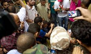 libya body Gaddafi