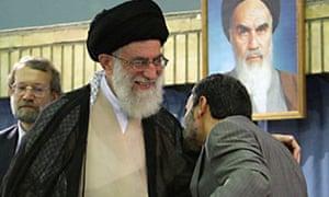 Ali Khamenei Mahmoud Ahmadinejad