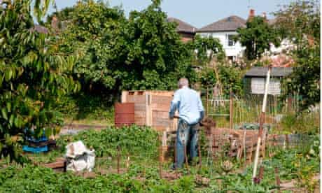 Working allotment London
