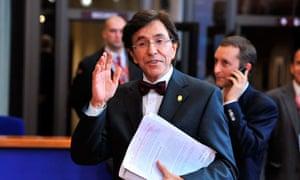 elio di rupo belgium prime minister
