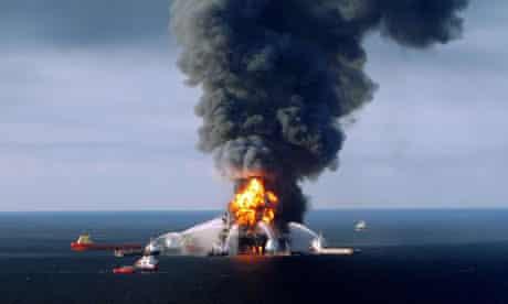 oil rig Deepwater Horizon