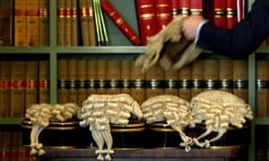 lawyer barrister wig