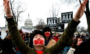 Pro- And Anti-Abortion Groups Rally On Roe V. Wade Anniversary