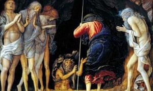 Descent into limbo andrea mantegna
