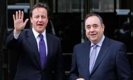 David Cameron Alex Salmond