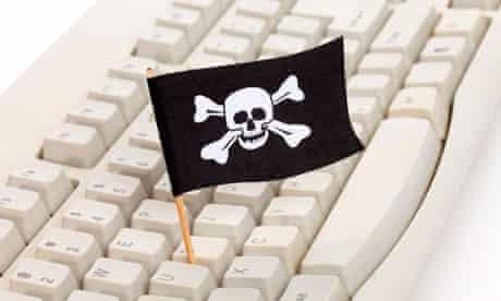 Pirate Flag computer Keyboard