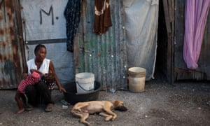 haiti port au prince camp