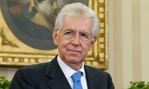 Mario Monti italy prime minister