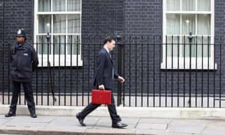 George Osborne downing street budget