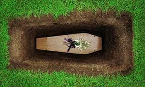 coffin grave