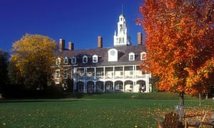Bennington college Vermont