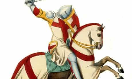 Templar knight battle