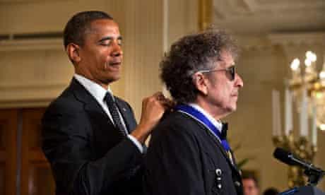 Medal of Freedom Bob Dylan