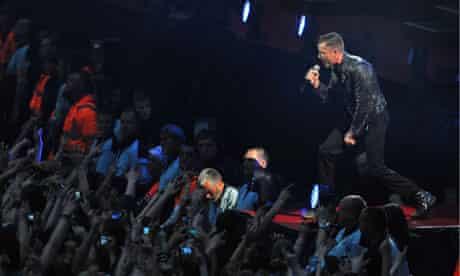 The Killers Wembley Stadium