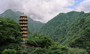 pagoda Taroko Gorge Taiwan