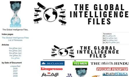 WikiLeaks Global Intelligence files